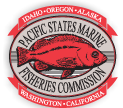 Back to the Pacific States Marine Fisheries Commission Home Page red fish icon