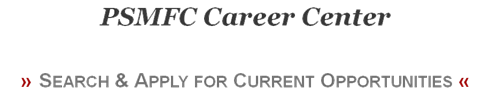 PSMFC Career Center Heading